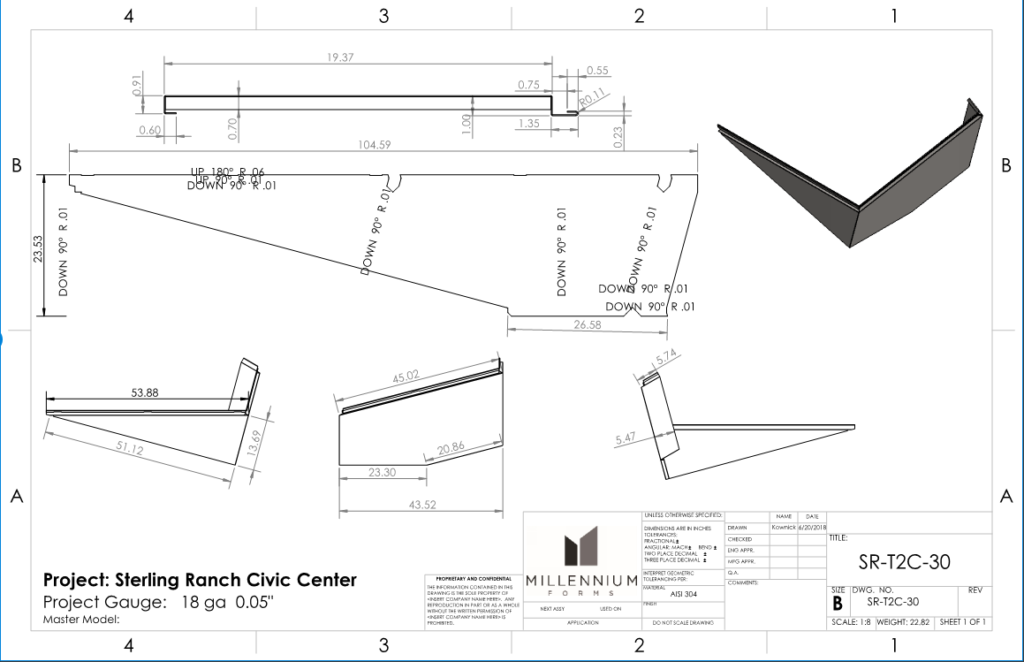 Solidworks Drawing Example